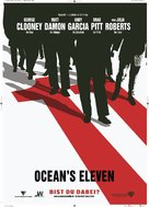 Ocean's Eleven - German Teaser movie poster (xs thumbnail)