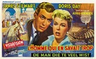 The Man Who Knew Too Much - Belgian Movie Poster (xs thumbnail)