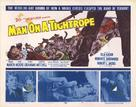 Man on a Tightrope - British Movie Poster (xs thumbnail)