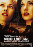 Mulholland Dr. - Italian Movie Poster (xs thumbnail)