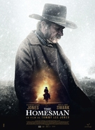 The Homesman - French Movie Poster (xs thumbnail)