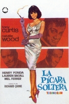 Sex and the Single Girl - Spanish Movie Poster (xs thumbnail)