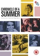 Chronique d'un été (Paris 1960) - British DVD cover (xs thumbnail)