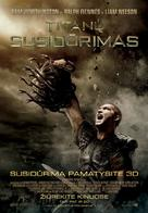 Clash of the Titans - Lithuanian Movie Poster (xs thumbnail)
