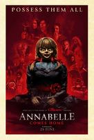 Annabelle Comes Home - Swedish Movie Poster (xs thumbnail)