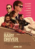 Baby Driver - Indian Movie Poster (xs thumbnail)