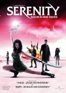 Serenity - German DVD cover (xs thumbnail)