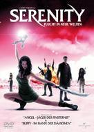 Serenity - German DVD movie cover (xs thumbnail)
