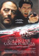 Les rivières pourpres - Spanish Movie Poster (xs thumbnail)