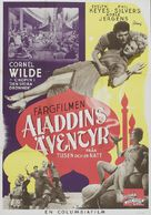 A Thousand and One Nights - Swedish Movie Poster (xs thumbnail)