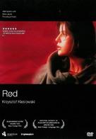 Trois couleurs: Rouge - Norwegian DVD cover (xs thumbnail)
