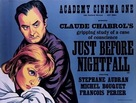 Juste avant la nuit - British Movie Poster (xs thumbnail)