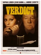 Verdict - French Movie Poster (xs thumbnail)