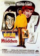 Artists and Models - German Movie Poster (xs thumbnail)