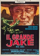Big Jake - Italian Movie Poster (xs thumbnail)