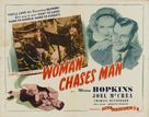 Woman Chases Man - Re-release poster (xs thumbnail)