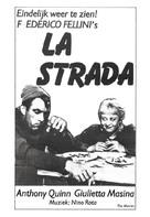 La strada - Dutch Movie Poster (xs thumbnail)