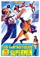 I fantastici tre supermen - French Movie Poster (xs thumbnail)