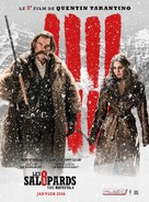 The Hateful Eight - French Movie Poster (xs thumbnail)