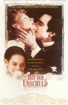 The Age of Innocence - German Movie Poster (xs thumbnail)