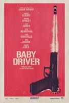 Baby Driver - British Movie Poster (xs thumbnail)