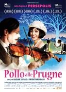 Poulet aux prunes - Italian Movie Poster (xs thumbnail)