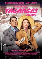 Holiday - French Re-release movie poster (xs thumbnail)