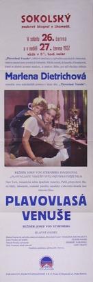 Blonde Venus - Czech Movie Poster (xs thumbnail)