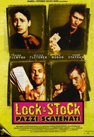 Lock Stock And Two Smoking Barrels - Italian Movie Poster (xs thumbnail)