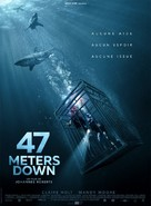 47 Meters Down - French Movie Poster (xs thumbnail)