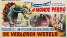 The Lost World - Belgian Movie Poster (xs thumbnail)