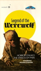 Legend of the Werewolf - VHS cover (xs thumbnail)