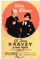 Judge Hardy and Son - Spanish Movie Poster (xs thumbnail)