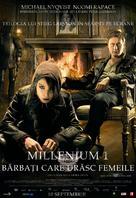 Män som hatar kvinnor - Romanian Movie Poster (xs thumbnail)