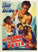 A Streetcar Named Desire - Belgian Movie Poster (xs thumbnail)