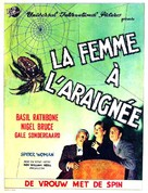 The Spider Woman - Belgian Movie Poster (xs thumbnail)