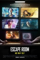 Escape Room: Tournament of Champions - Danish Movie Poster (xs thumbnail)