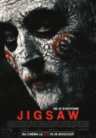 Jigsaw - Belgian Movie Poster (xs thumbnail)