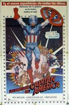 Captain America II: Death Too Soon - Spanish Movie Poster (xs thumbnail)