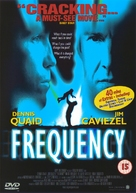 Frequency - British DVD cover (xs thumbnail)