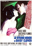 Inside Daisy Clover - Italian Movie Poster (xs thumbnail)