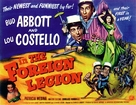 Abbott and Costello in the Foreign Legion - British Movie Poster (xs thumbnail)