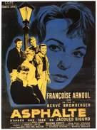 Asphalte - French Movie Poster (xs thumbnail)