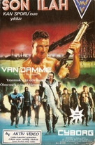 Cyborg - Turkish VHS cover (xs thumbnail)
