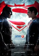Batman v Superman: Dawn of Justice - Latvian Movie Poster (xs thumbnail)