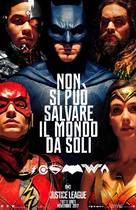 Justice League - Italian Movie Poster (xs thumbnail)