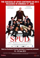 Spud 2: The Madness Continues - South African Movie Poster (xs thumbnail)