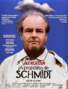 About Schmidt - Spanish Movie Poster (xs thumbnail)