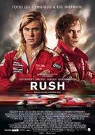 Rush - Spanish Movie Poster (xs thumbnail)