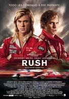 Rush - Spanish Movie Poster (xs thumbnail)